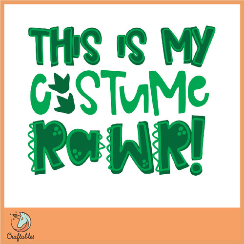 Free This is my Costume SVG Cut File