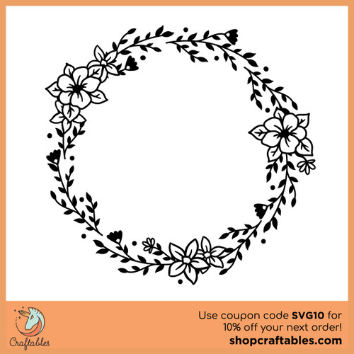 Free Wreath SVG Cut File
