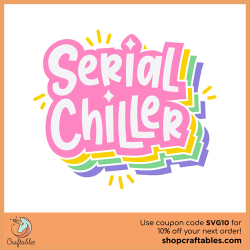 Free Serial Chiller SVG Cut File
