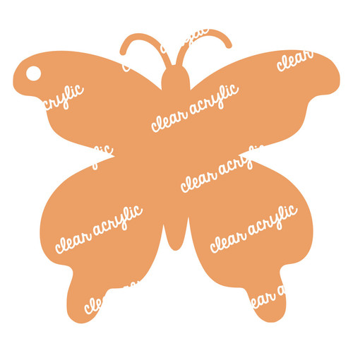 Butterfly Acrylic Blank for Keychains
