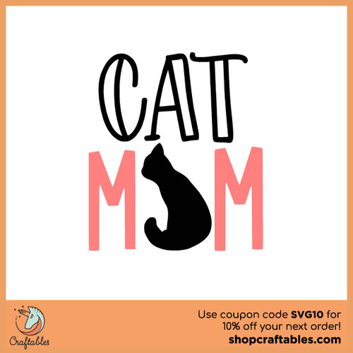 Cat Mom (2021) Free SVG Cut File