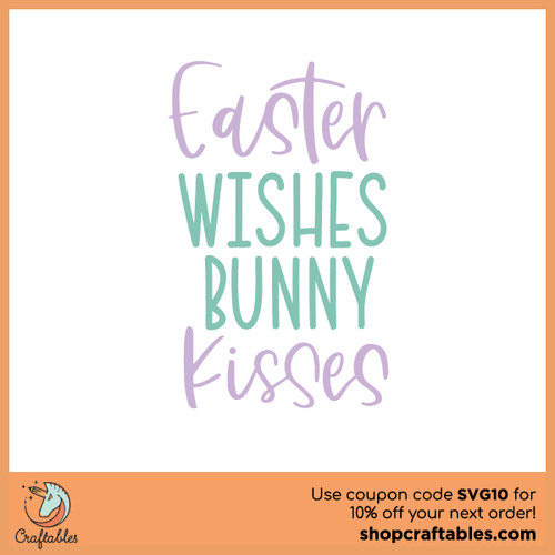 Free Easter Wishes SVG Cut File