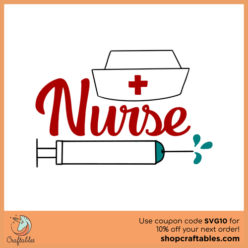 Free Nurse Cut File