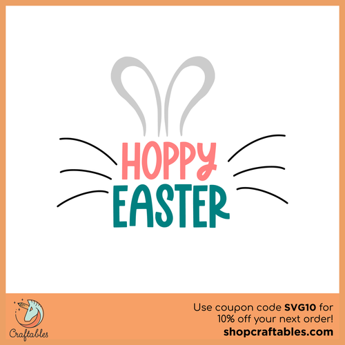 Free Hoppy Easter Cut File