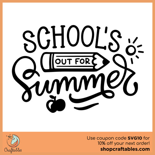 Free Schools Out Cut File