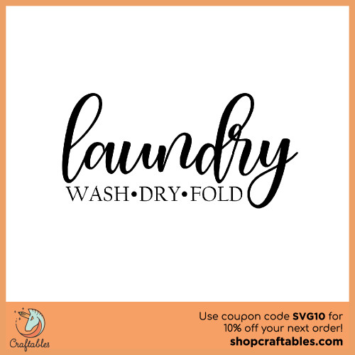 Download Free Laundry SVG Cut File | Craftables