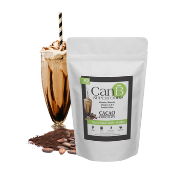 1 BAG - Chocolate Can B Superfoods - 30 Scoops - Powder Mix
