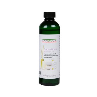 SENSATIONAL Massage Oil (100 mg CBD)