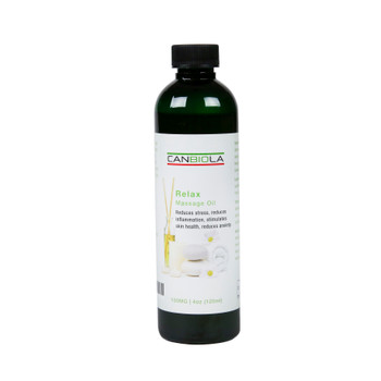 Massage Oil (100 mg CBD) Relax Scent