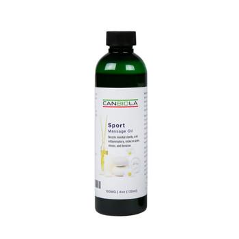 Massage Oil (100 mg CBD) Sport
