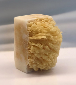 Almond Coconut Soap Sea Sponge Soap - 200mg