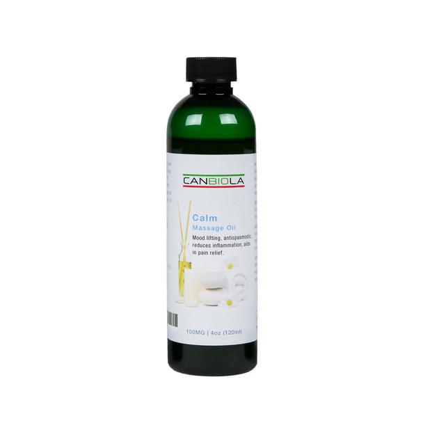 Massage Oil (100 mg CBD)  Calm Scent