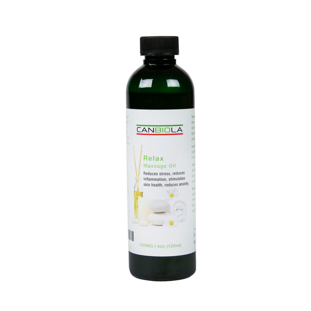 Massage Oil (100 mg CBD) Relax Scent