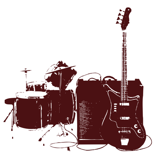 Buy vector musical instruments illustration royalty-free vectors