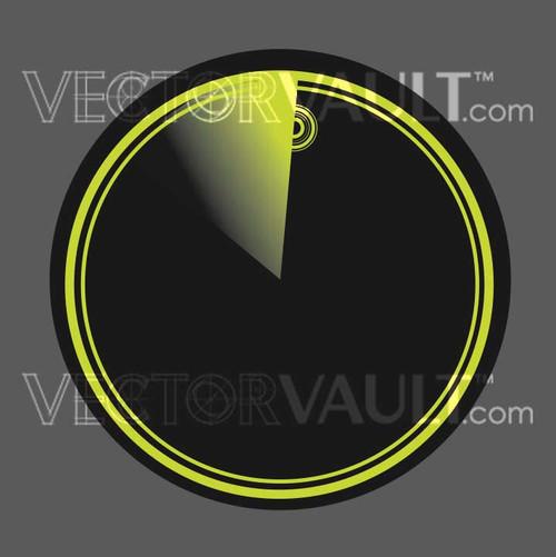image free vector radar sonar scope