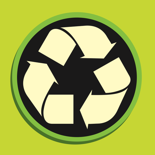 image free vector recycle icon