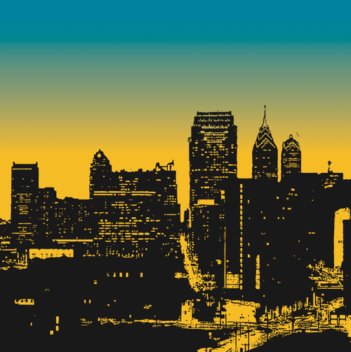 image free vector freebie city skyline