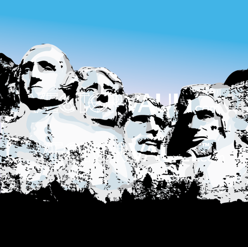 buy vector mount rushmore
