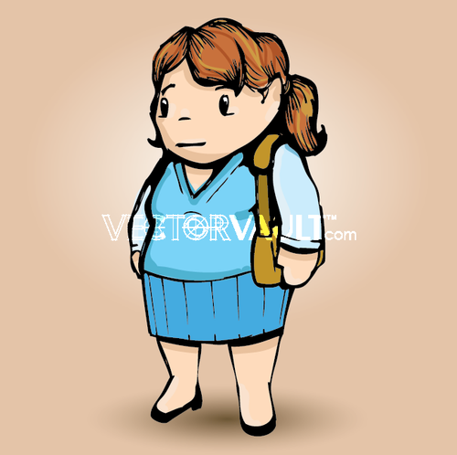 image-buy-vector-cartoon lady
