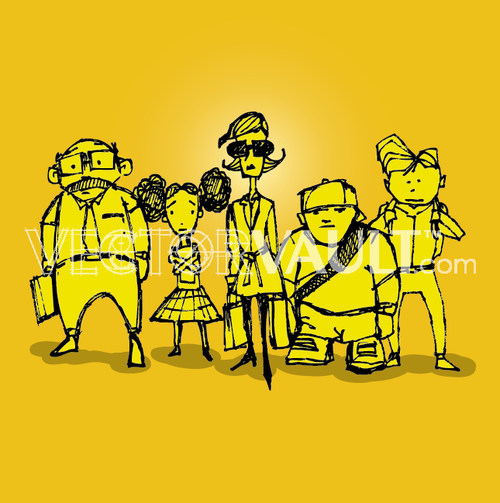 image-buy-vector-cartoon-commuters