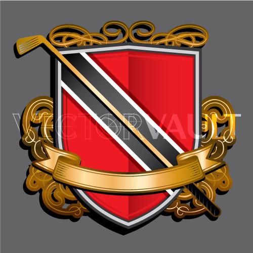 Buy Vector Golf Crest logo emblem Image free vectors - vectorvault