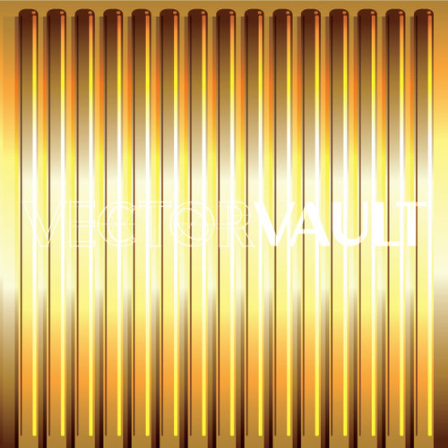 Buy Vector gold ribbed texture pattern tubes Image free vectors image
