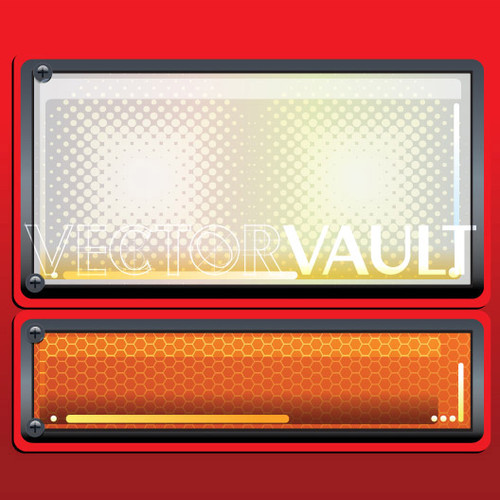 buy Vector Truck Reflectors headlight image - vectorvault