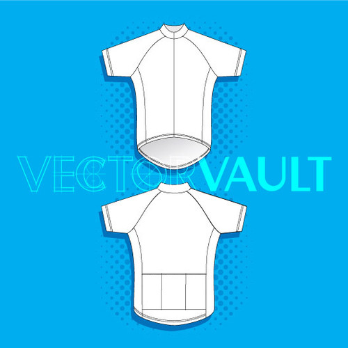 Buy Vector cycling bike jersey Image free vectors - Vectorvault