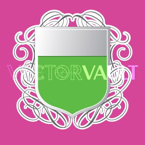 Buy Vector shield emblem logo template Image free vectors - Vectorvault