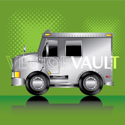 Buy Vector armoured car Image free vectors - Vectorvault