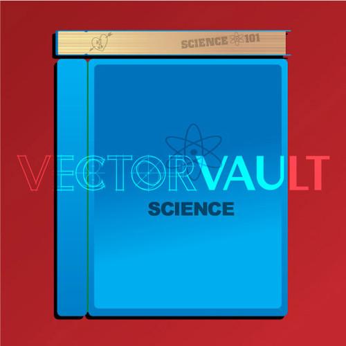 Buy Vector school science textbook Image free vectors - Vectorvault