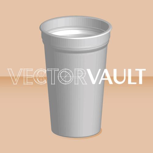 Buy Vector paper cup logo graphic Image search find buy free vectors - Vectorvault