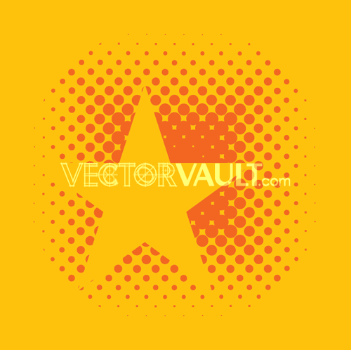 Vector Star Dots Logo