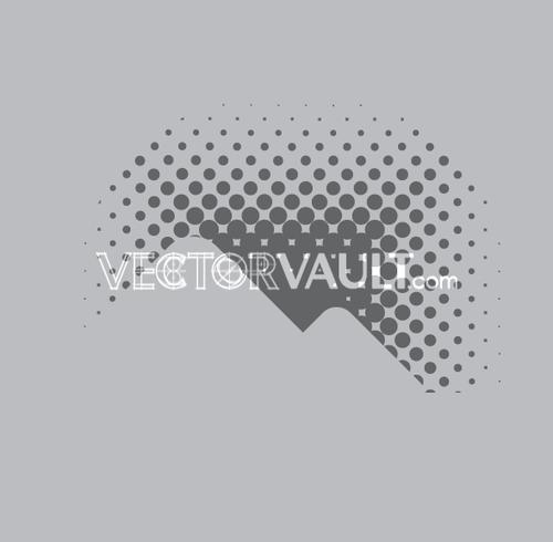 Vector Mountain Peak Icon