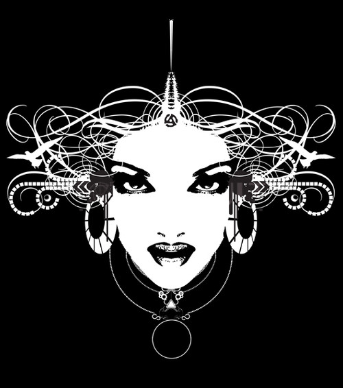 Buy Vector Graphic Woman Gaze