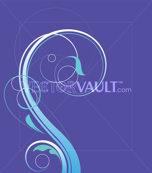 Buy Vector Ornate Curl Flourish