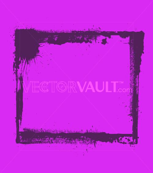 Buy Vector Rough Splatter Splash Frame