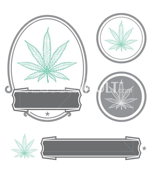 Buy Vector Cannabis Leaf Branding Logo Free Vectors Marijuana logo