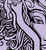 Buy vector symmetrical face design illustration royalty-free vectors