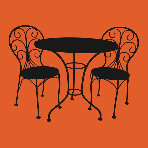 image free vector freebie cafe patio set