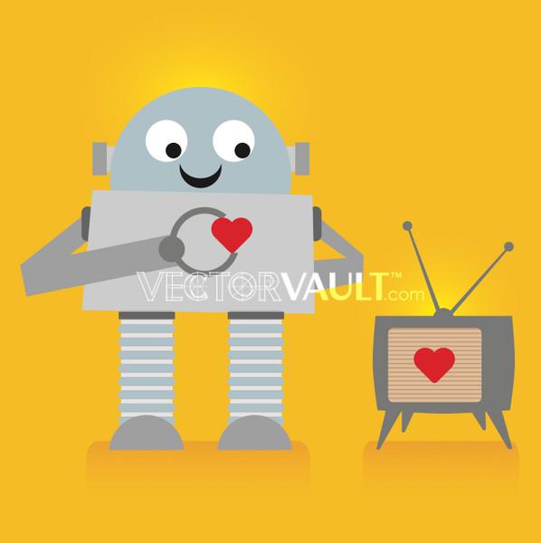 image-free-vector-freebie-robot-love-tv-television