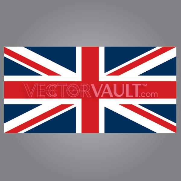 vector union jack uk british flag