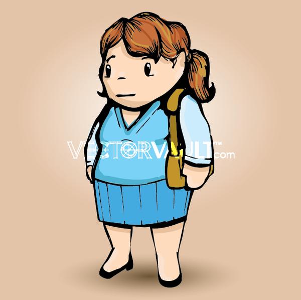 image-buy-vector-cartoon lady
