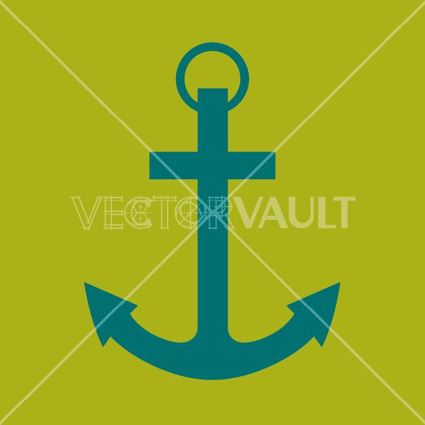 vector ship anchor
