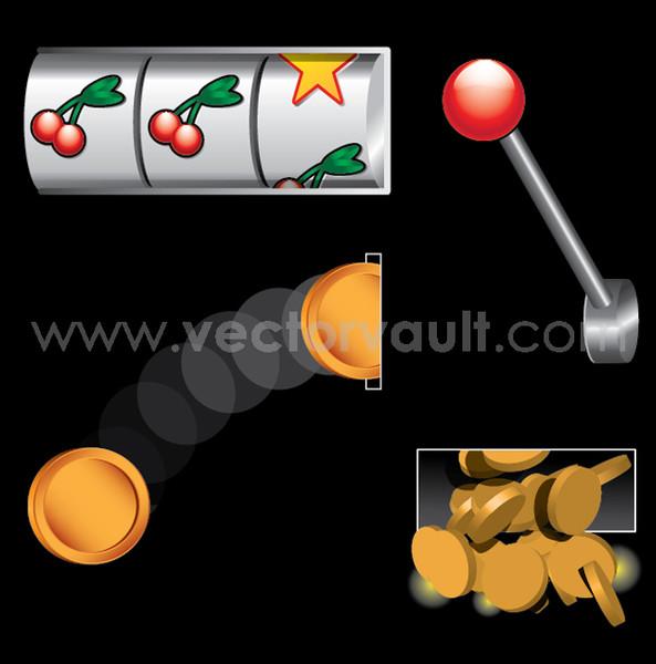 buy vector slot machine online gambling graphics jack pot