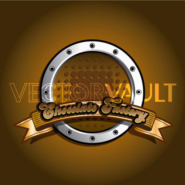 Buy Vector Chocolate Factory Logo Image free vectors - vectorvault