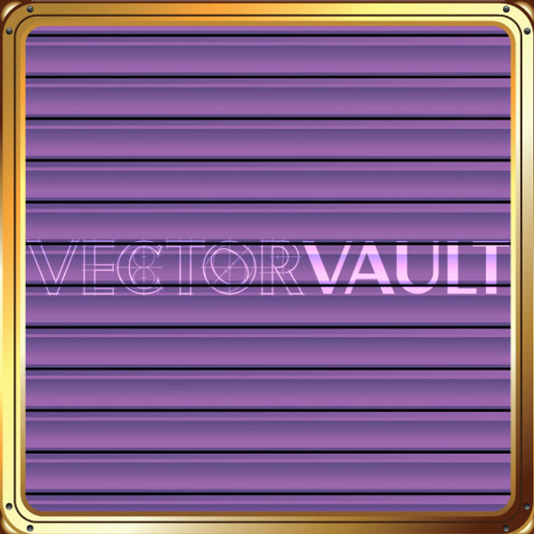 Buy Vector Framed Purple Blinds Image free vectors - Vectorvault