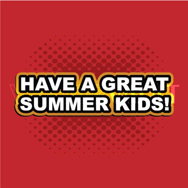 Buy Vector have a great summer kids Image free vectors - Vectorvault