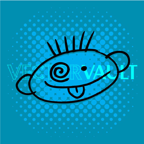 Buy Vector goofy face drawing Image free vectors - Vectorvault