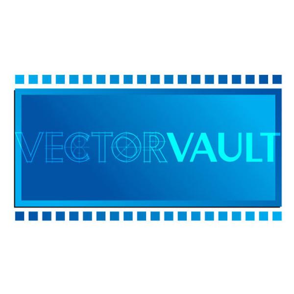 Buy Vector film strip movie logo Image search find buy free vectors - Vectorvault